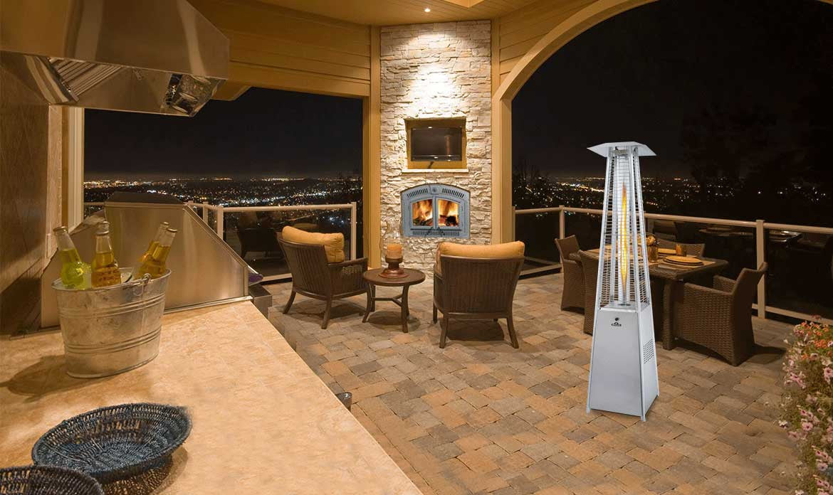 Skyfire Bellagio Patio Heater Napoleon Bbqsandgrills Ca