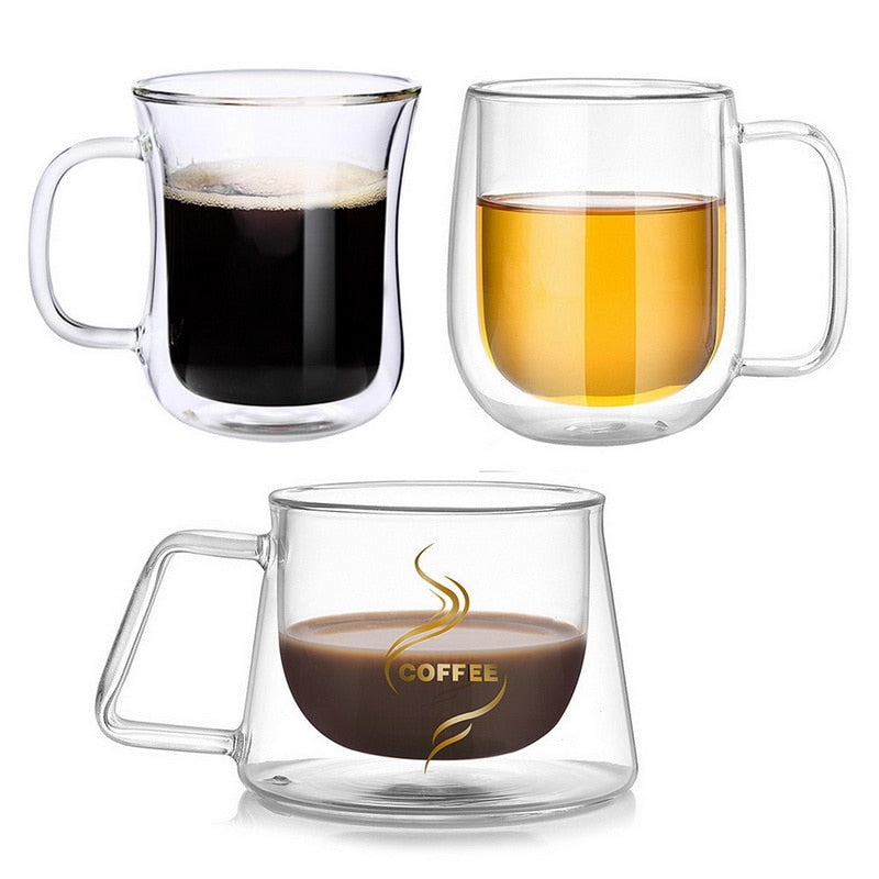 Double Layer Coffee Mug