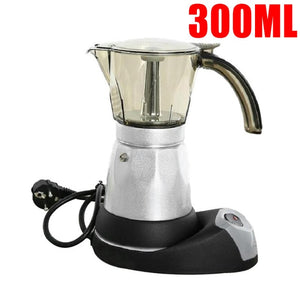Open image in slideshow, Stainless Steel Electric Coffee Maker