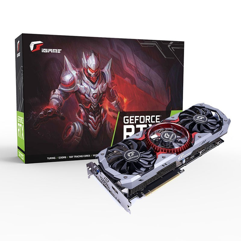 COLORFUL iGame RTX 2080 Super Advanced OC VR-Ready 8G Graphics Card