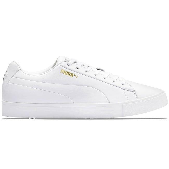 Puma OG White Golf Shoes | Side View
