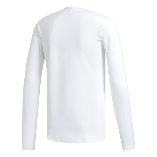 adidas Golf White Climawarm Crewneck | Back View