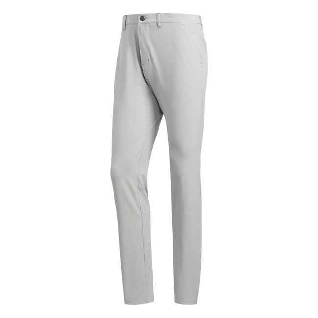 Adidas Ultimate365 Tapered Grey Two Golf Pants | Front View
