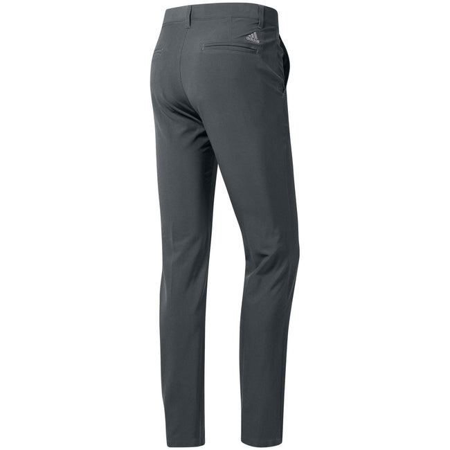 Adidas Ultimate365 Grey Five Tapered Golf Pants | Rear View