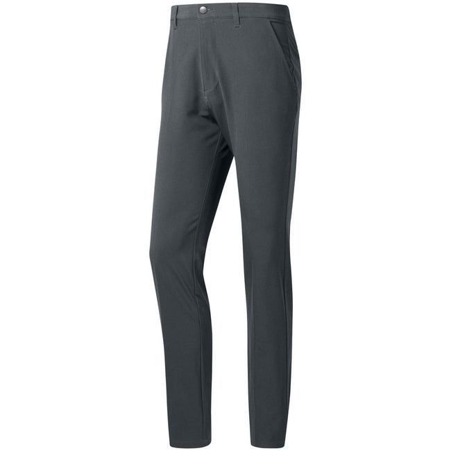 Adidas Ultimate365 Grey Five Tapered Golf Pants | Front View