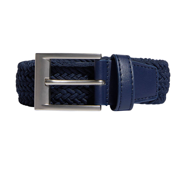 Adidas Golf Braided Collegiate Navy Stretch Belt | Overview of Belt