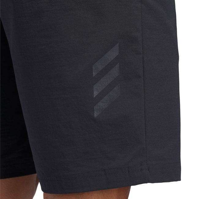 adidas Golf Adicross Five Pocket Carbon Shorts | Close Up of Branding