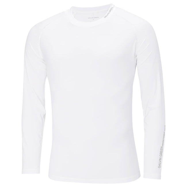 Galvin Green Elmo White Base Layer | Front View of Elmo