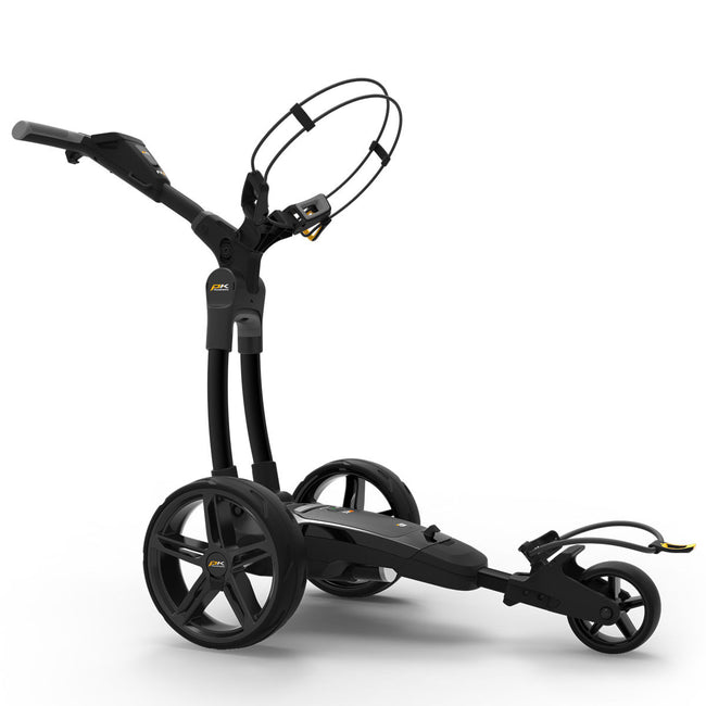 Powakaddy FX3 18 Hole Lithium Black Trolley | Side View of FX3