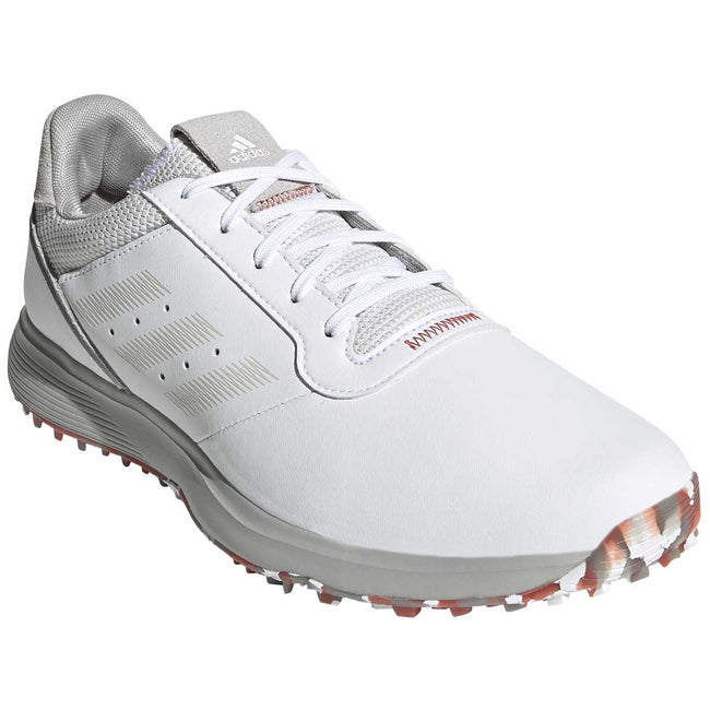 adidas S2G Spikeless Leather White Golf Shoes - SS21 | Overview of golf shoes