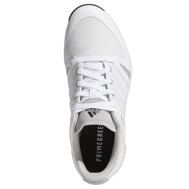 adidas EQT Spikeless Golf Shoes - White/Grey - 2021 | Top view of shoes