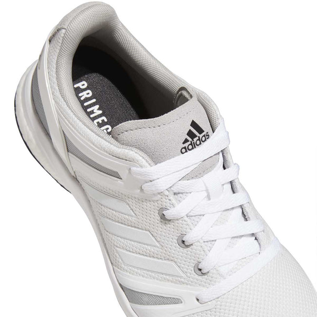 adidas EQT Spikeless Golf Shoes - White/Grey - 2021 | Close up of detail