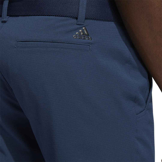 adidas Golf Pin Roll Tapered Pant - Crew Navy SS21 | Close up of pocket detail