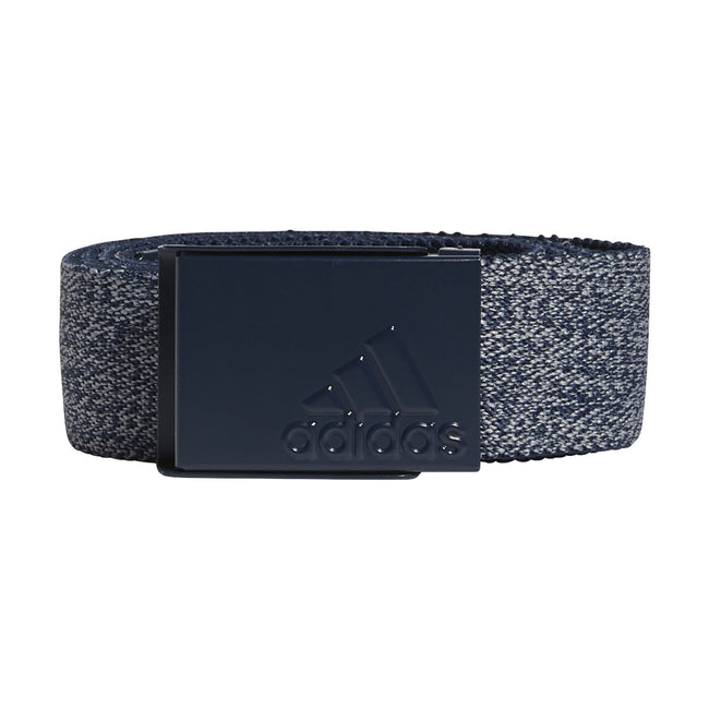 adidas Heather Stretch Belt in Navy - SS21 | Front view of belt