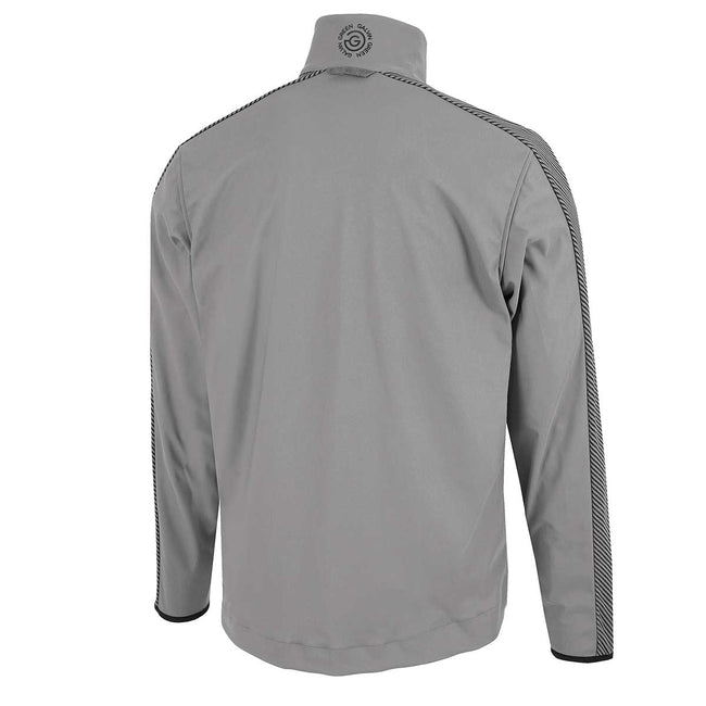 Galvin Green Laurent IF-1 Grey Golf Jacket | Rear View showing full jacket