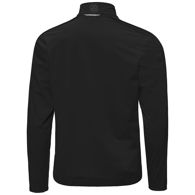 Galvin Green Laurent IF-1 Black Golf Jacket | Rear View of The Jacket