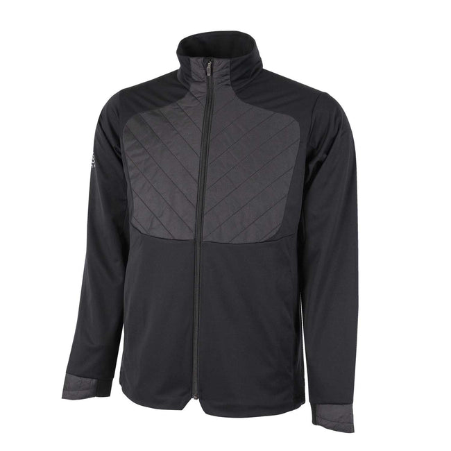 Galvin Green Linc INTERFACE-1 Black Windproof Jacket | Front view of jacket