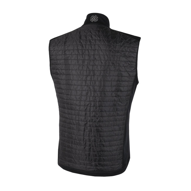 Galvin Green Louie INTERFACE-1 Black Body Warmer | Back view of gilet
