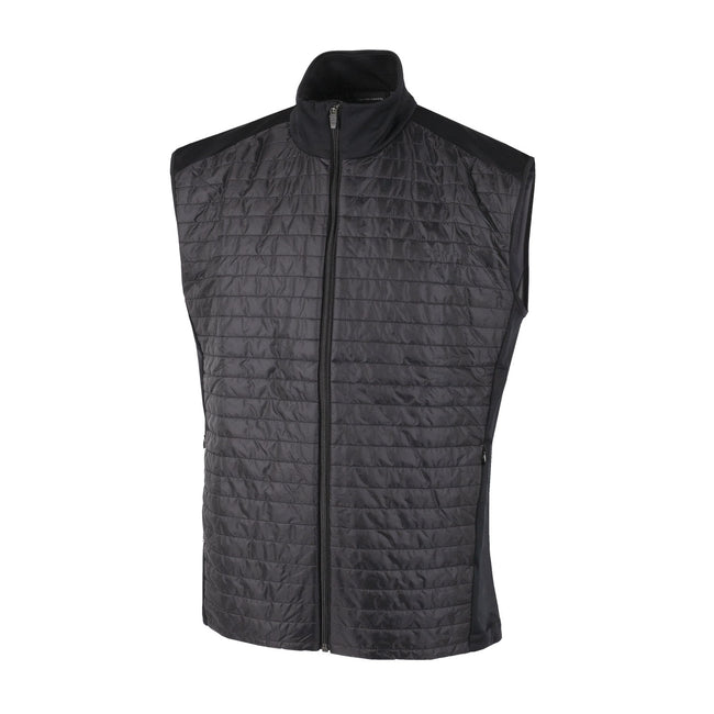 Galvin Green Louie INTERFACE-1 Black Body Warmer | Front view of gilet