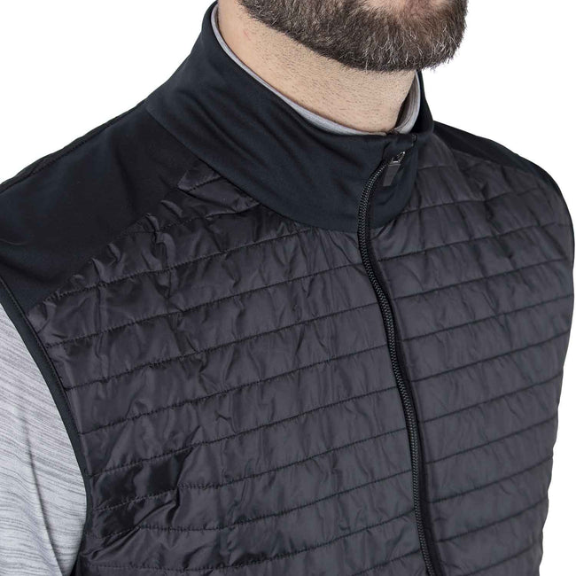 Galvin Green Louie INTERFACE-1 Black Body Warmer | Close up of primaloft chest