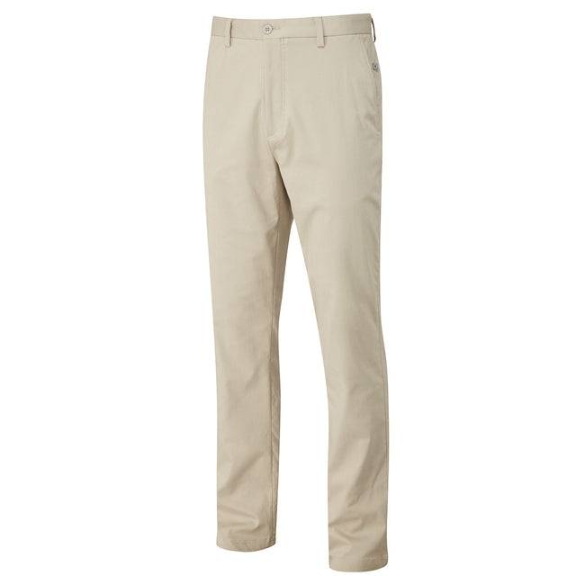 Ping Bennett Chino Style Golf Trousers in Clay - Front view