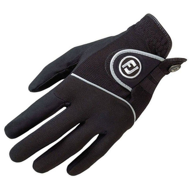 Footjoy RainGrip Black Golf Gloves (Pair) | Overview