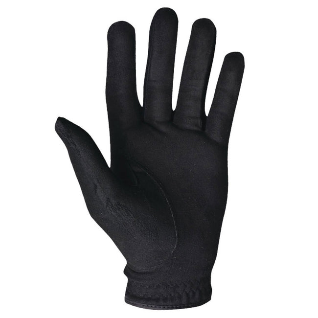 Footjoy RainGrip Black Golf Gloves (Pair) | Palm View