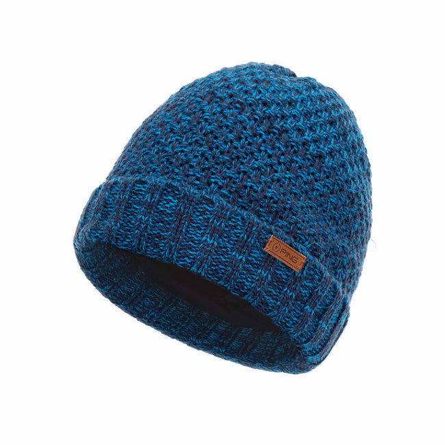 Ping Kingsley Oxford Blue Golf Beanie Hat | Original Green