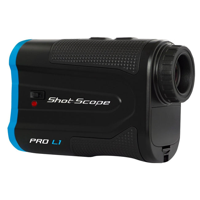 Shot Scope Pro L1 Laser Rangefinder - Black/Blue | View of Lens Profile