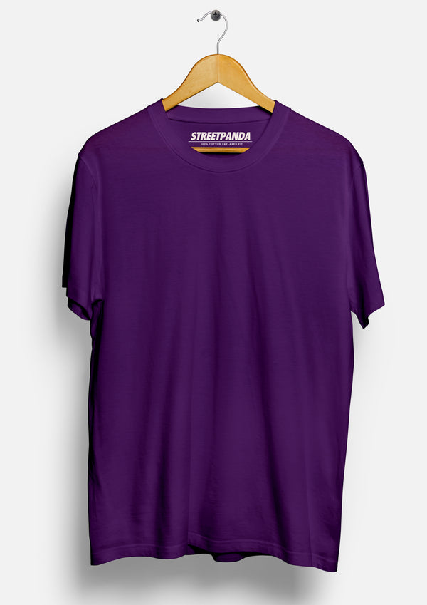 Solid Purple | Men's T-Shirt