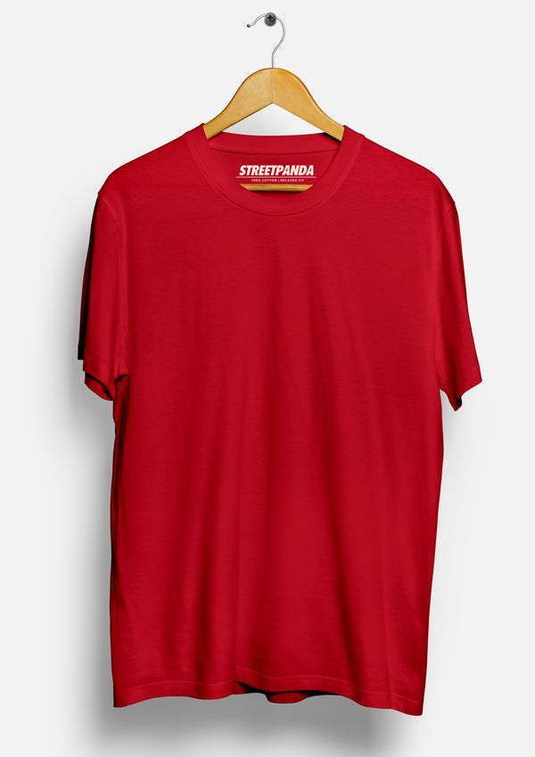 Solid Red | Men's T-Shirt