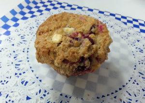 Muffins - Oatmeal Cranberry with White Chocolate