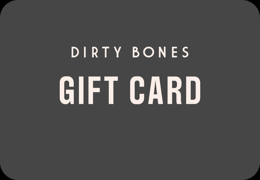 DIRTY-AT-HOME GIFT CARD