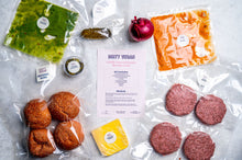 Load image into Gallery viewer, VEGAN CHILLI CHEESEBURGER KIT