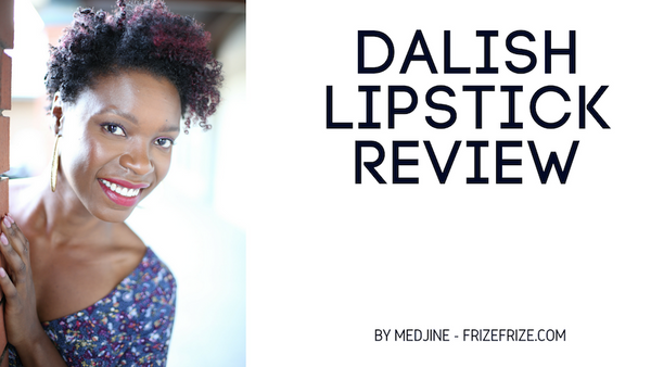 Da lish cosmetics: Natural Lipstick review