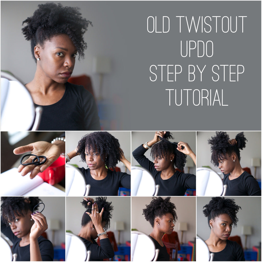 Original Twist Out Updo