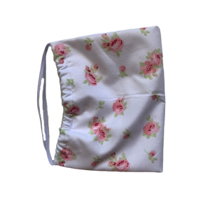 Floral Pink - 2 Layer Cotton Mask