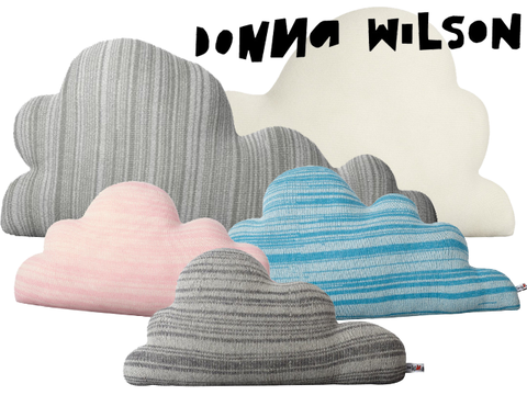 Donna Wilson Medium Pink Cloud Cushion