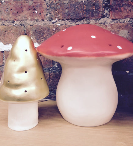 Large Red Mushroom Night Light