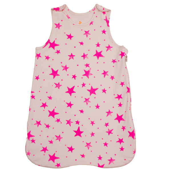 Noe & Zoe Berlin Pink Stars Sleeping Bag