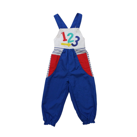 Vintage Fun Numbers Jumpsuit