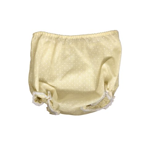 80s Vintage Yellow Polka Dot Bloomers