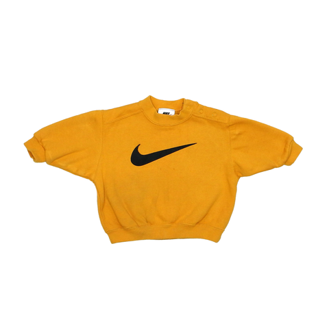 Nike Classic Yellow Jumper | 3-6 Months