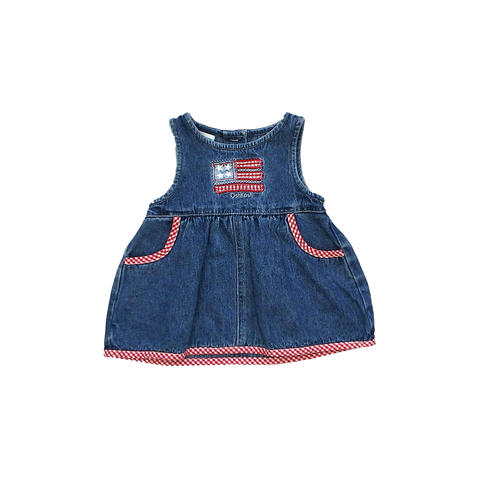 Oshkosh Denim Dress | 0-3 Months