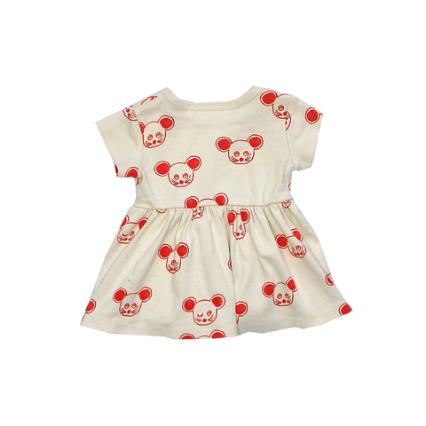 Mini Rodini Mouse Dress | 1-4 Months