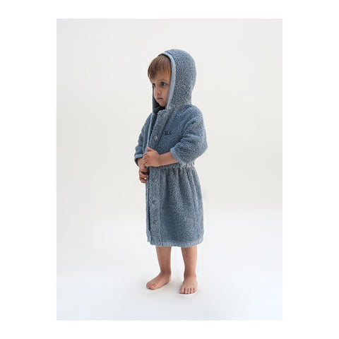 Towel Bathrobe B.C. TEAM Blue