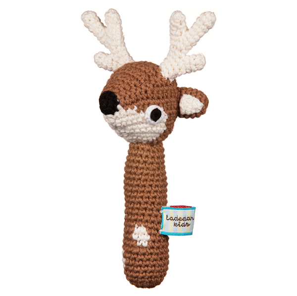 La De Dah Kids Deer Hand Rattle