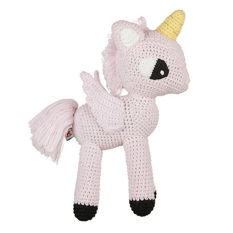 La De Dah Kids Unicorn Soft Toy | Jess