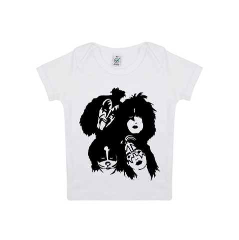 Kiss Organic T-Shirt | White