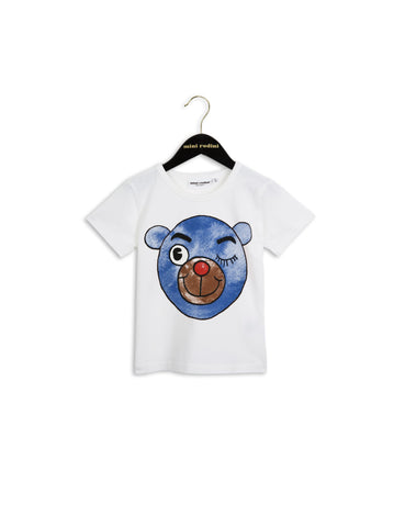 Mini Rodini Blue Bear Tee